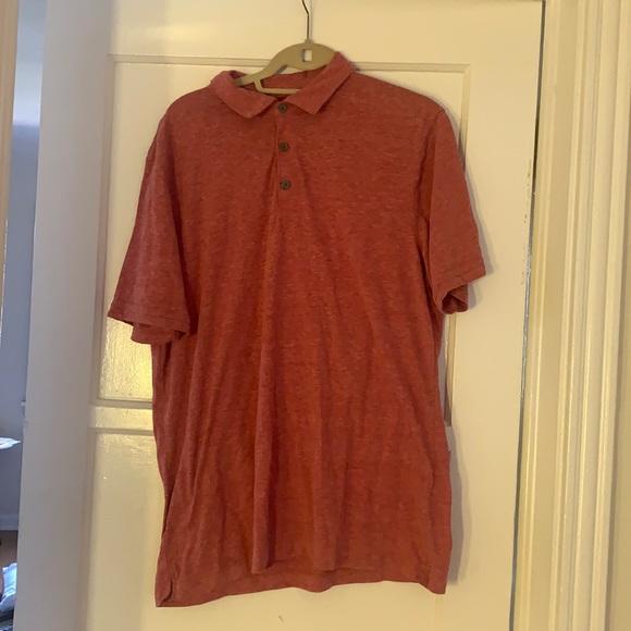 Men's Vintage polo style T-shirt